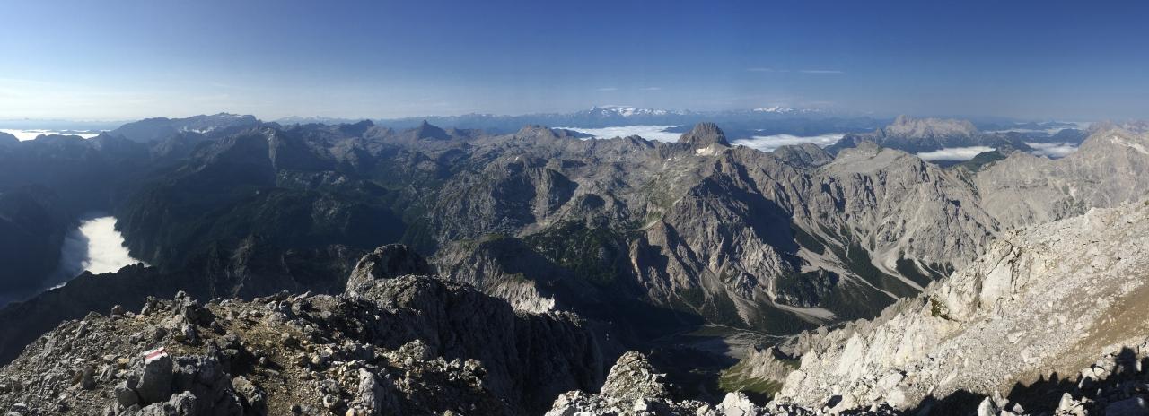 Südspitze, Panorama