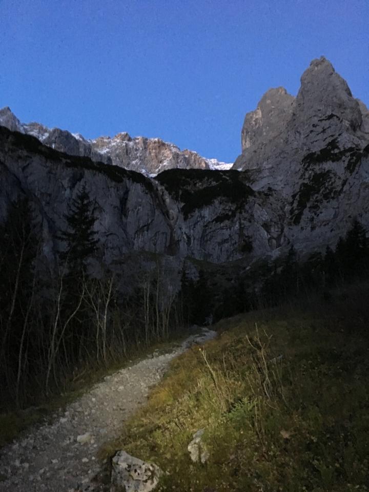 Höllental, Aufstieg