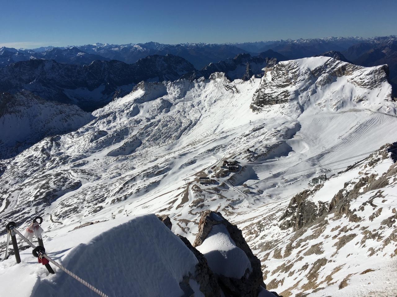 Zugspitze, Blicks auf's Platt